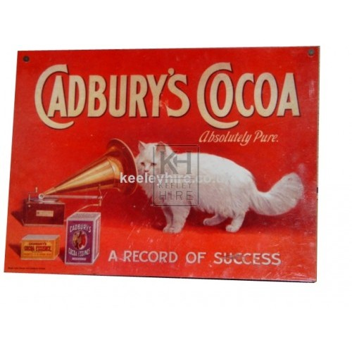 Cadburys Cocoa sign