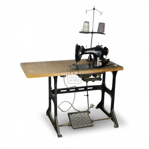 Sewing Machine & Table