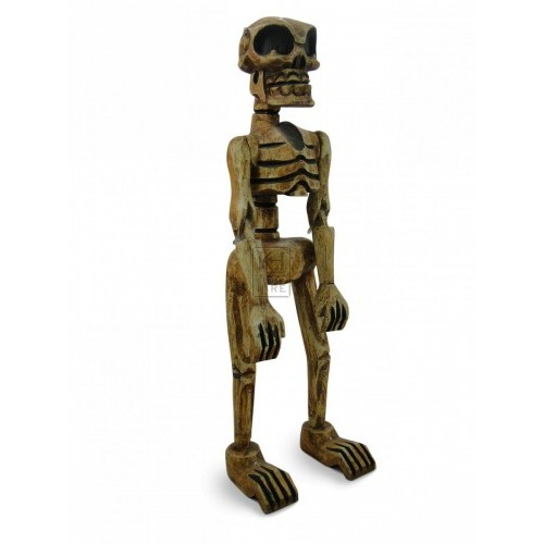 Small Carved Skeleton