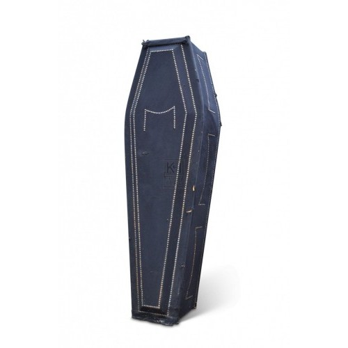 Coffin - Black with Shaped Lid