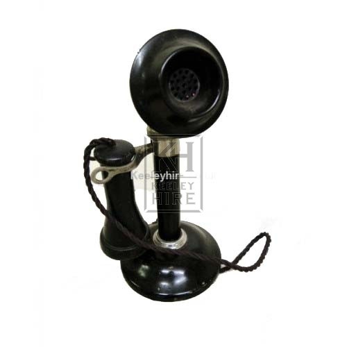Black Candlestick Telephone