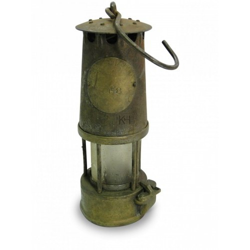 Period brass Miners Lamp