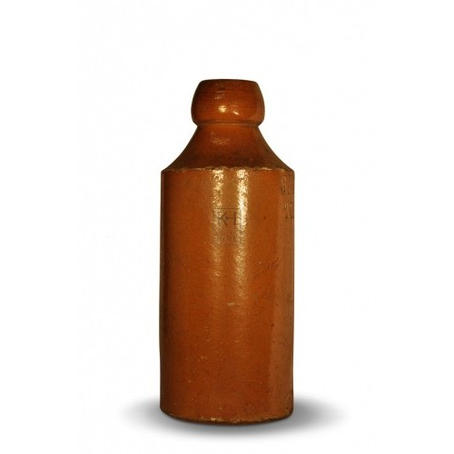 Stoneware Ginger beer bottle