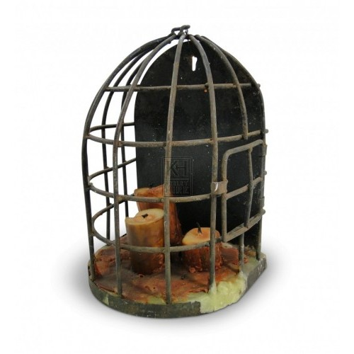 Wall Mounted Cage Holder