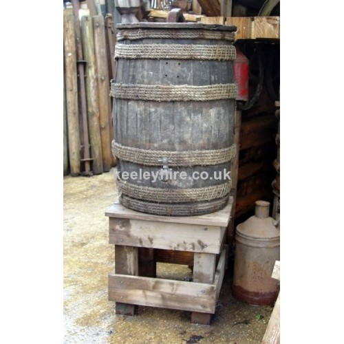 Upright Barrel on Stand