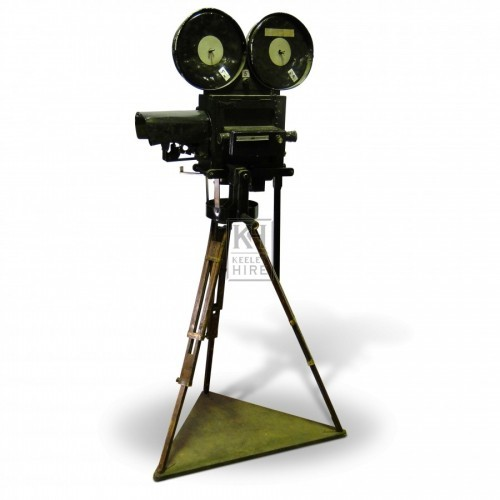 Prop Tripod Movie Camera