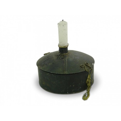 Tinderbox Candleholder