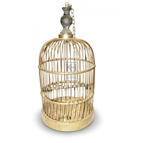 Dome Brass Bird Cage