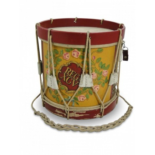 Floral Patterned Drum