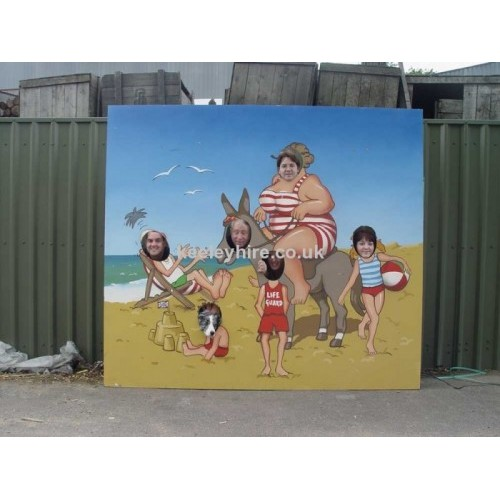 Seaside Photograph Board