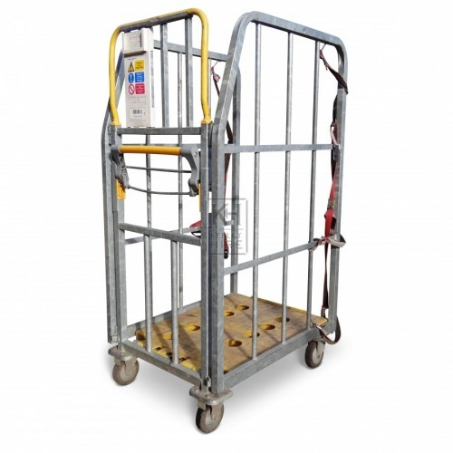 Large Metal Supermarket Cage