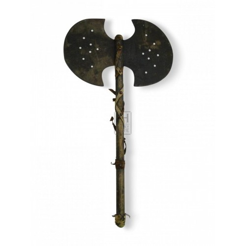 Medieval Prop Hire » Double Sided Battle Axe - Keeley Hire
