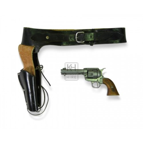 1880s Colt Cowboy Pistol and Holster