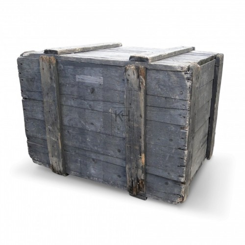 Medium Upright Wood Packing Crates