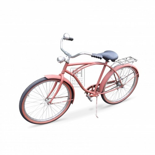 Pale red American Bicycle