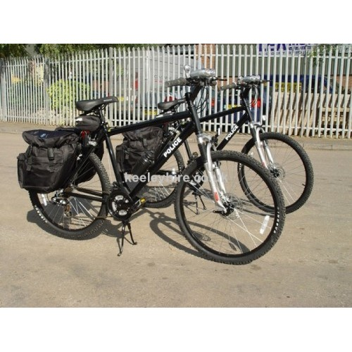 Modern British Police Mountain bicycles