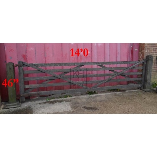 Farm Gate with Posts