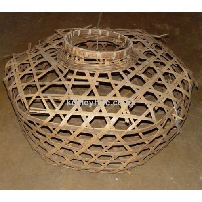 Large open weave basket