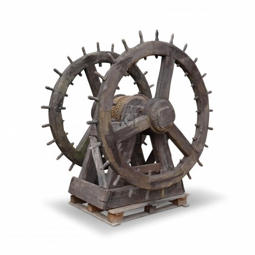Large Winch wheels #1