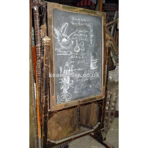 Upright blackboard