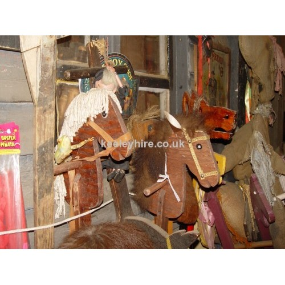 Wood hobby horses