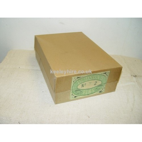 Dudsons Pins card box