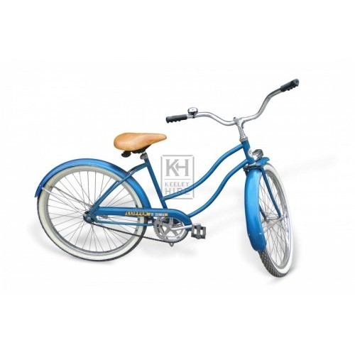 Blue American Ladies Bicycle