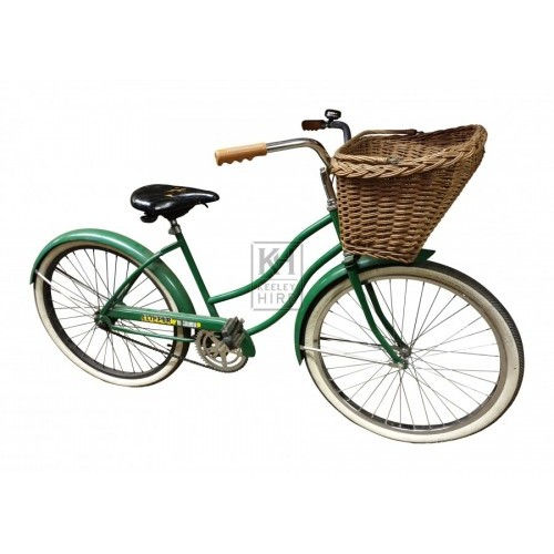 Green American Ladies Bicycle