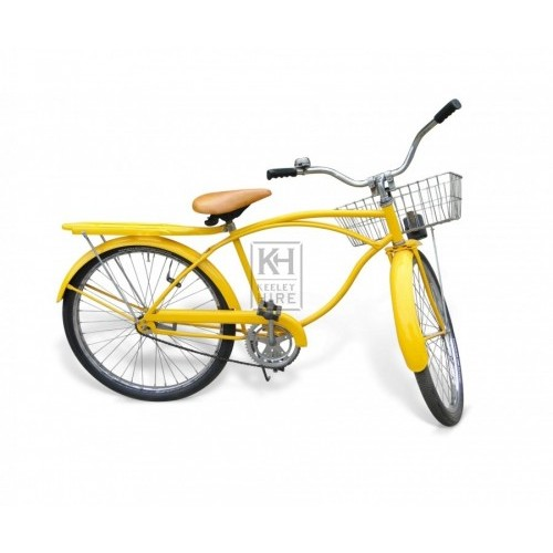 50s yellow American Bicycle