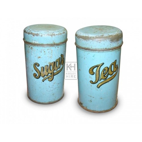 Sugar & Tea Tins