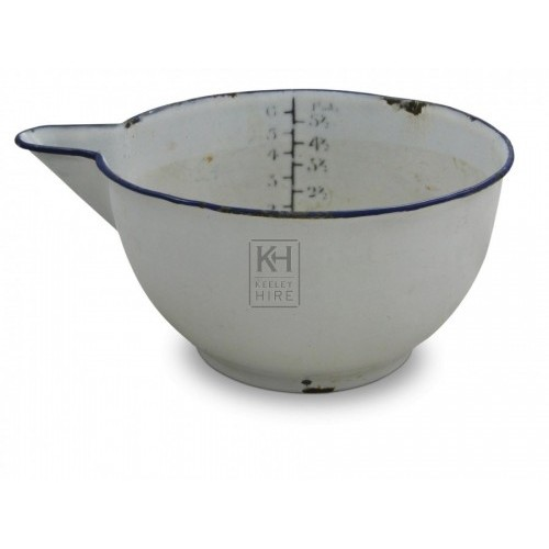 Enamel Scoop Measure