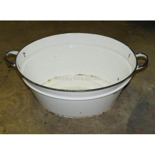 Enamel Tub White