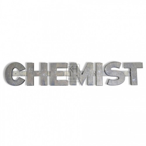 Wood Chemist sign