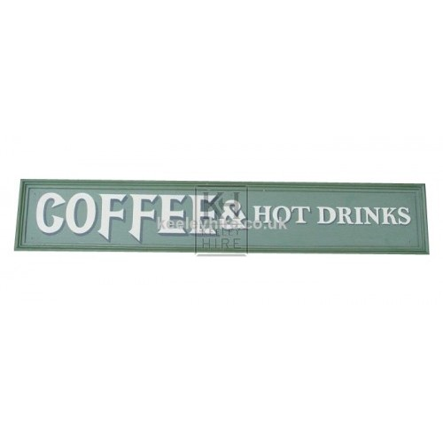 Cofee & Hot Drinks sign