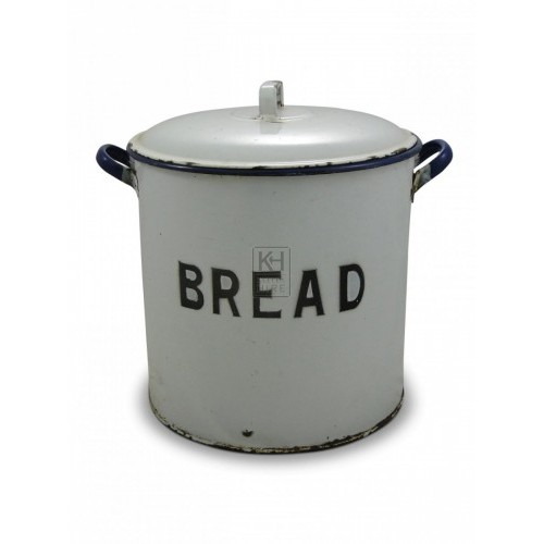 Round Enamel Bread Tin