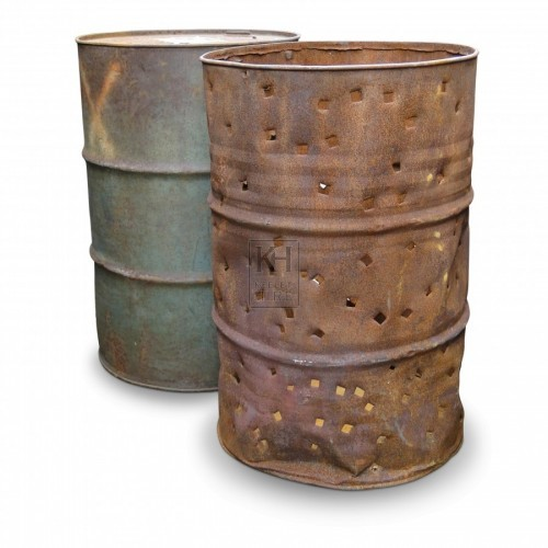 Oil Drum Braziers