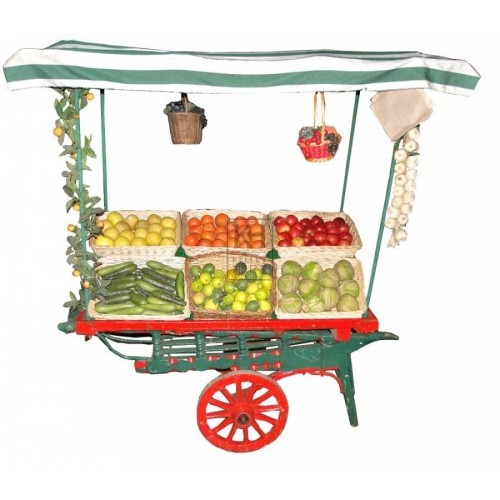 Miniature coster barrow - dressed