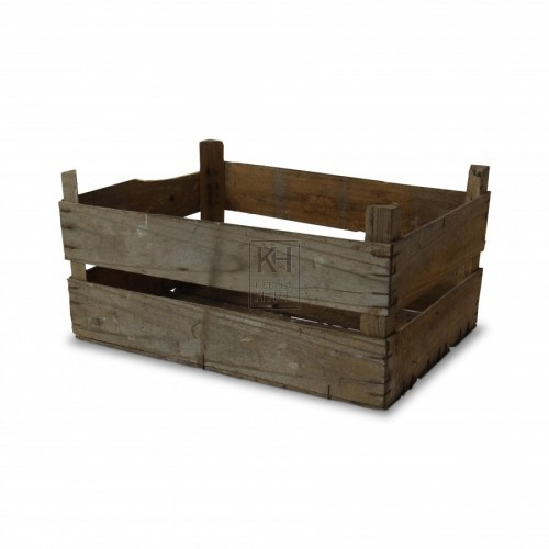 Double Slat Wooden Crates