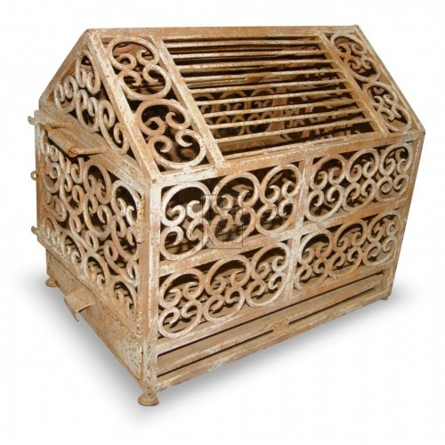 Ornate Iron Cage