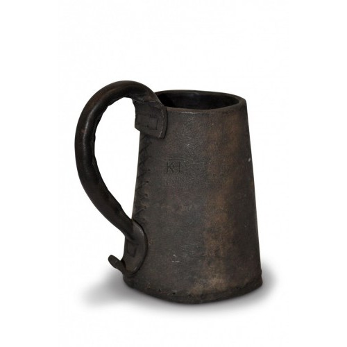 Black Shaped Tankards
