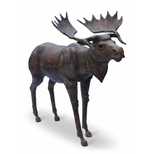 Medium Leather Moose