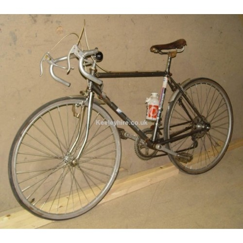 Grey Racing bicycle