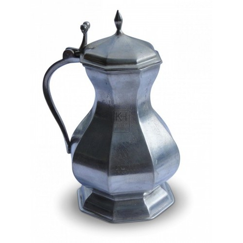 Shaped Pewter Flagon