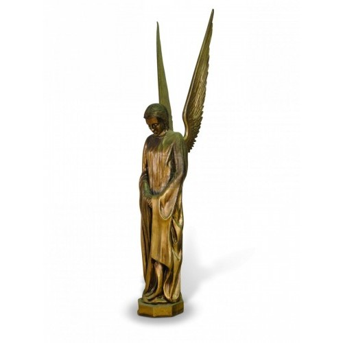 Golden Angel Figure