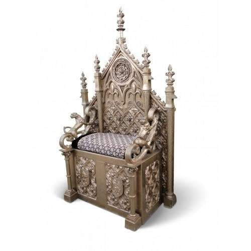 Ornate Gold Throne