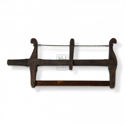Wooden Bow Saw