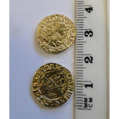 Small Elizabethan gold coin