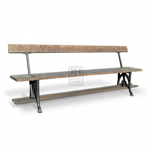 Station Bench Cast Iron