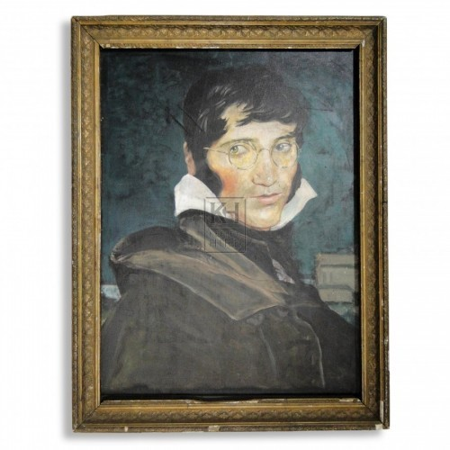 Framed Portrait Painting