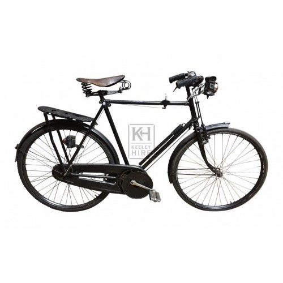 1920s Black Gents bicycle